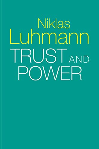 9781509519453: Trust and Power