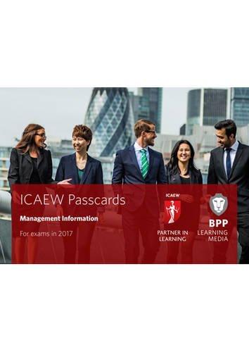 9781509702459: ICAEW Management Information: Passcards