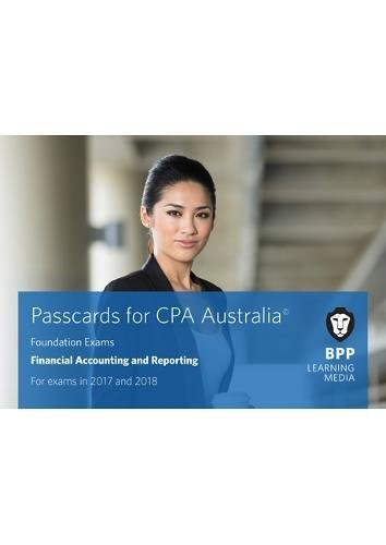 9781509703074: CPA Australia Financial Accounting and Reporting: Passcards