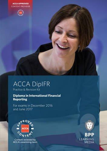 9781509703159: DipIFR Diploma in International Financial Reporting: Revision Kit