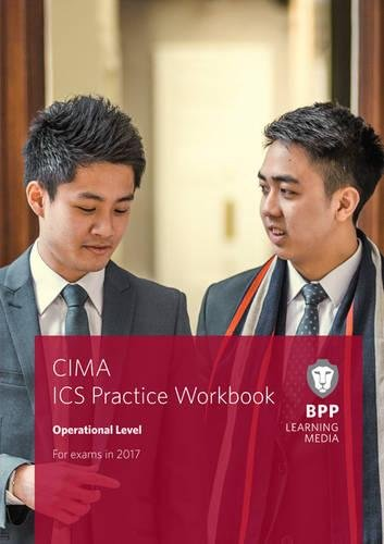 9781509707911: CIMA Operational E1, F1 & P1 Integrated Case Study: Practice Workbook