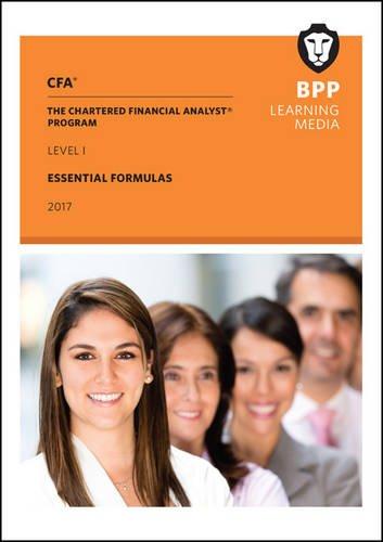 9781509708093: CFA Level 1: Essential Formulas