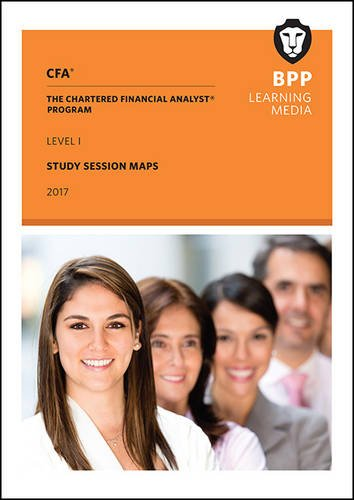 9781509708116: CFA Level 1: Study Session Maps