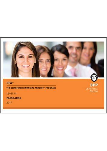 9781509708260: CFA Level 3: Passcards