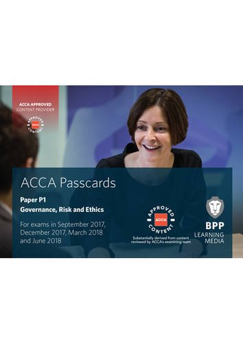 9781509708741: ACCA P1 Governance, Risk and Ethics: Passcards