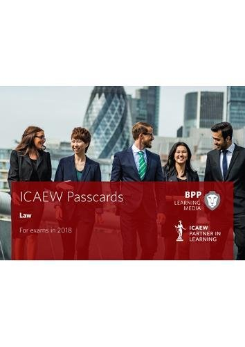 9781509713752: ICAEW Law: Passcards