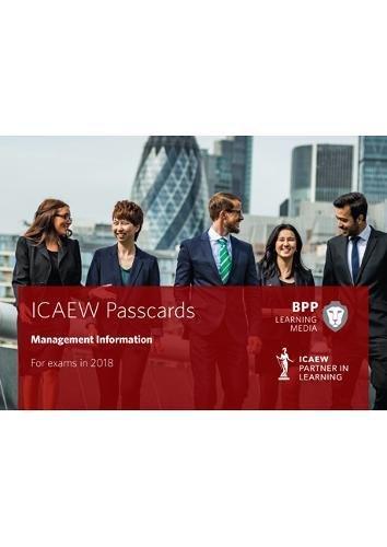 9781509713776: ICAEW Management Information: Passcards