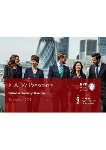 9781509713844: ICAEW Business Planning: Taxation: Passcards