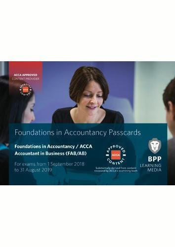 9781509717446: FIA Foundations of Accountant in Business FAB (ACCA F1): Passcards