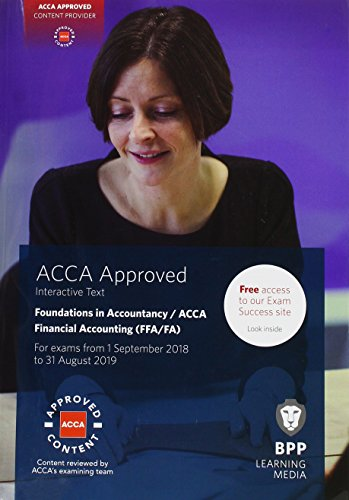9781509717644: FIA Foundations of Financial Accounting FFA (ACCA F3): Interactive Text