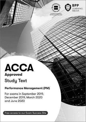 9781509724055: ACCA Performance Management: Study Text