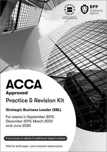 9781509724536: ACCA Strategic Business Leader: Practice and Revision Kit