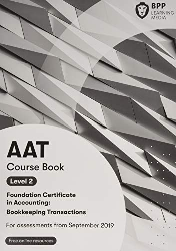 9781509726608: AAT Bookkeeping Transactions: Course Book