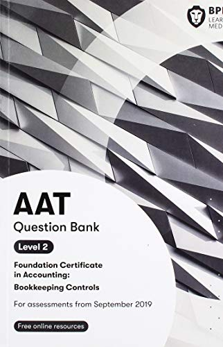 9781509781683: AAT Bookkeeping Controls: Question Bank
