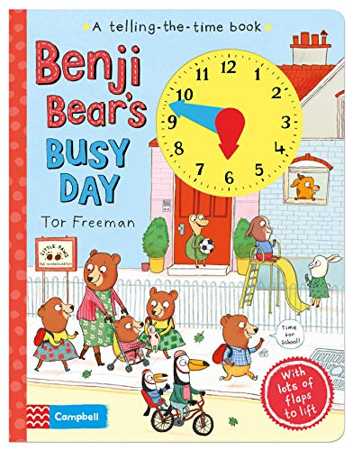 9781509801114: Benji Bear's Busy Day (Telling-the-Time Book)