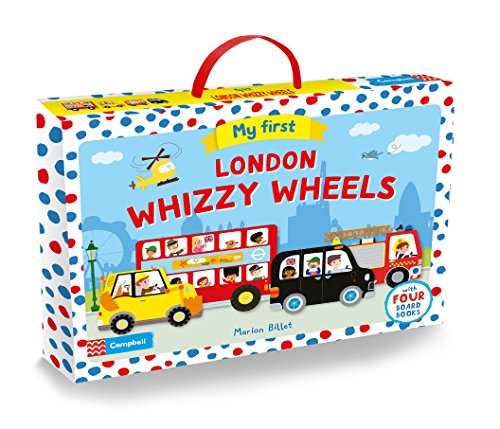 9781509804597: My First London Whizzy Wheels: Four Vehicle-Shaped Board Books in a Carry Case