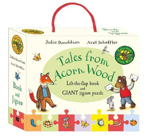 9781509805549: Tales from Acorn Wood Book and Jigsaw Gift Set