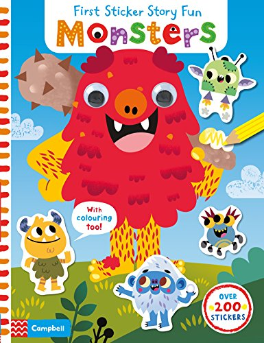 9781509806737: Monsters (First Sticker Story Fun)