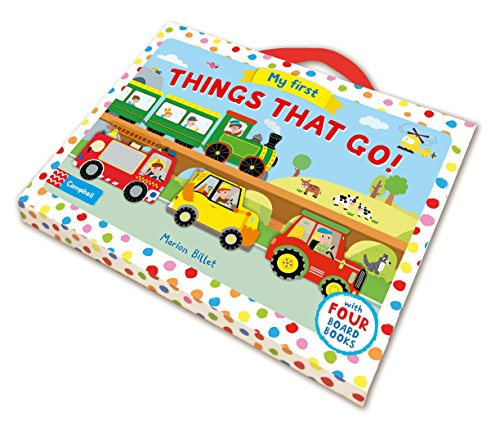 9781509808021: My First Things That Go!: With Four Board Books (Whizzy Wheels)