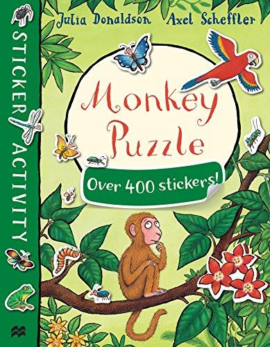 9781509812561: Monkey Puzzle Sticker Book