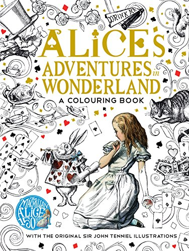 9781509813605: Carroll, L: Macmillan Alice Colouring Book
