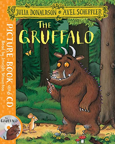 9781509815128: The Gruffalo. Book (+CD)