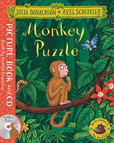 9781509815234: Monkey Puzzle. Book and CD Pack (Macmillan Digital Audio)