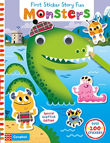 9781509817634: Monsters (First Sticker Story Fun)