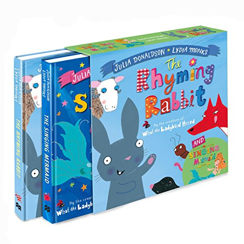 9781509820771: The Singing Mermaid and The Rhyming Rabbit board book gift slipcase