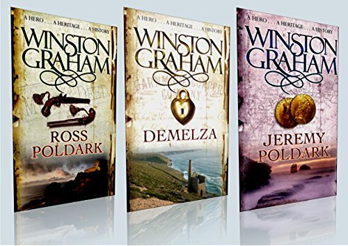9781509821778: Winston Graham Collection / Box Set (Brand New, Sealed Box) * Titles included: 1) Jeremy Poldark 2) Demelza 3) Ross Poldark * RRP: £23.97