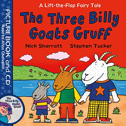 9781509829781: The Three Billy Goats Gruff: Book and CD Pack (Lift-the-Flap Fairy Tales)