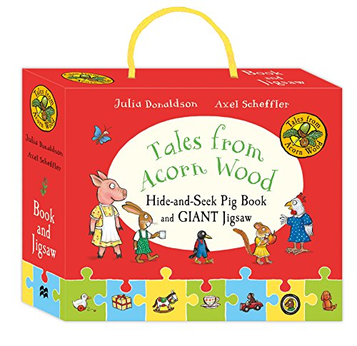9781509857401: Tales from Acorn Wood: Hide-and-Seek Pig Book and Jigsaw Set
