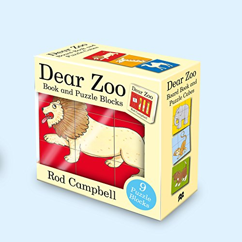 9781509864782: Dear Zoo Book & Puzzle Blocks