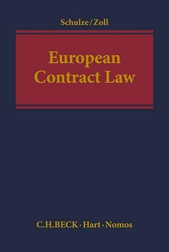 9781509900428: European Contract Law