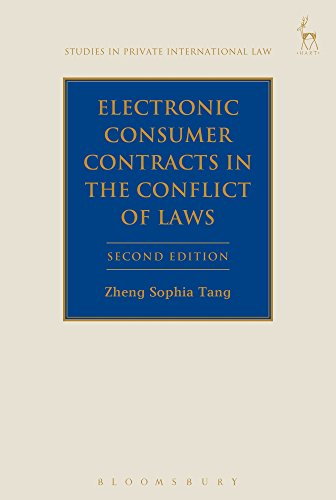 9781509920105: Electronic Consumer Contracts in the Conflict of Laws: Second Edition (Studies in Private International Law)