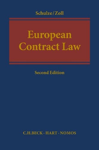 9781509920587: European Contract Law: Fully revised Second Edition 2018