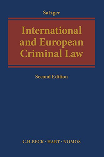 9781509922239: International and European Criminal Law