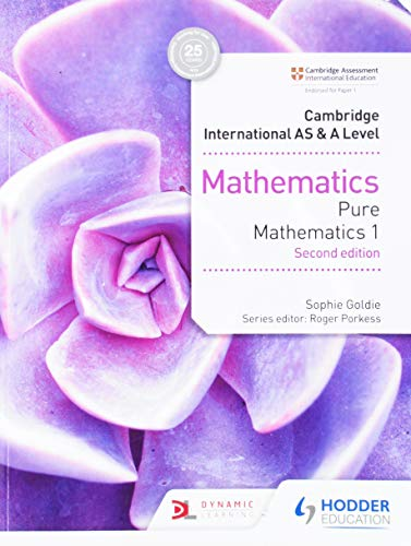 9781510421721: Cambridge International AS&A Level Mathematics Pure Mathematics 1