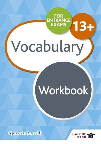 9781510429796: Vocabulary for Common Entrance 13+ Workbook (For Entrance Exams Workbooks)