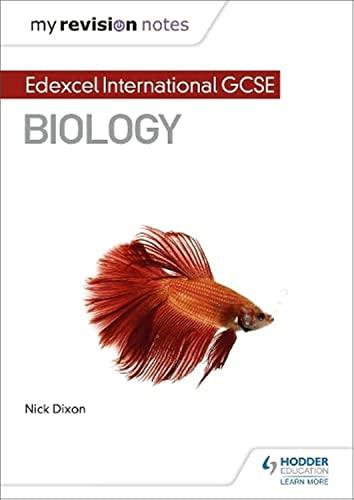 9781510446731: My Revision Notes: Edexcel International GCSE (9–1) Biology (MRN)