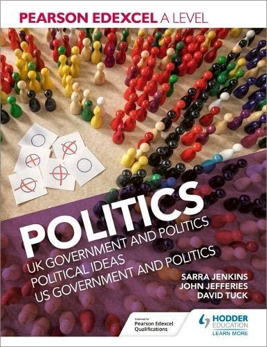 9781510449220: Pearson Edexcel A level Politics