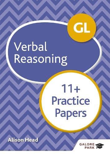 9781510449770: GL 11+ Verbal Reasoning Practice Papers