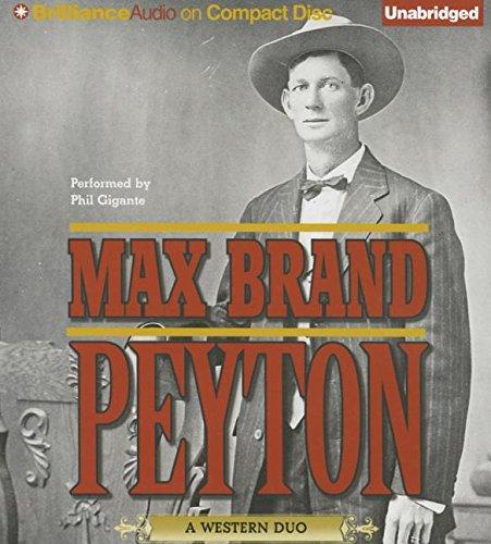 Peyton: Max Brand