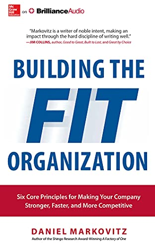 9781511312813: Building the Fit Organization: Six Core Principles for Making Your Company Stronger, Faster, and More Competitive