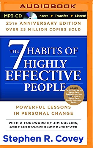 9781511317290: 7 HABITS OF HE PEOPLE 25TH A M