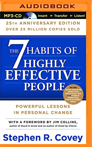 9781511317313: 7 Habits of Highly Effective People, The: 25th Anniversary Edition