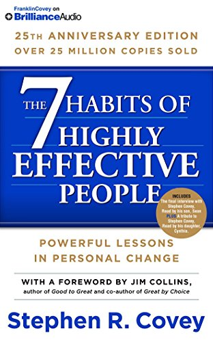 9781511317320: 7 Habits of Highly Effective People, The: 25th Anniversary Edition