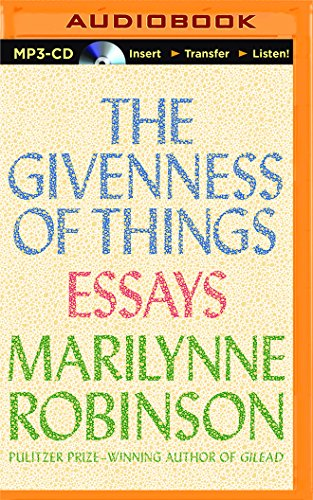 9781511343718: The Givenness of Things: Essays
