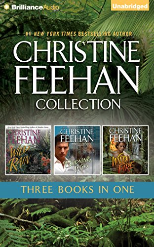 Christine Feehan 3-In-1 Collection: Wild Rain (#2), Burning Wild (#3), Wild Fire (#4) (Leopard): ...
