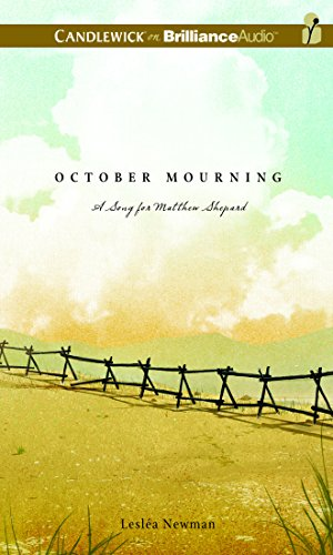 9781511360845: October Mourning: A Song for Matthew Shepard